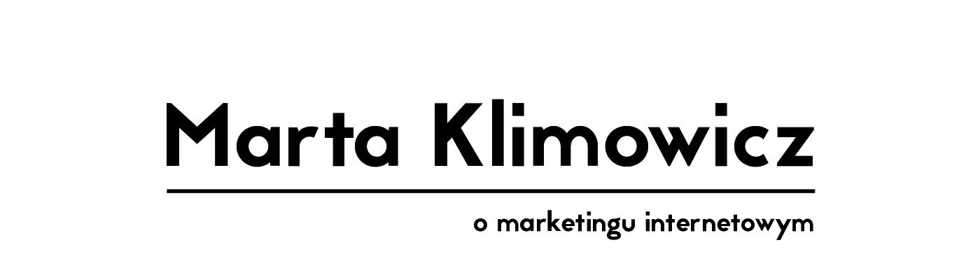 Marta Klimowicz o marketingu internetowym